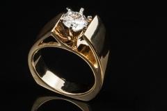 14ky diamond solitair