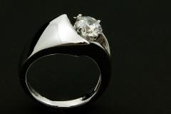 14kw diamond solitair