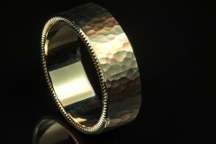 gents 18kw and rose gold coin edge