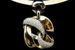 14ky diamond chain link pend