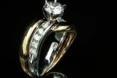 14ktt diamond ring