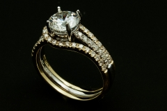 14ktt diamond wedding ring